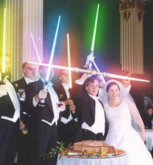 Nerdy Weddings (30 pics)