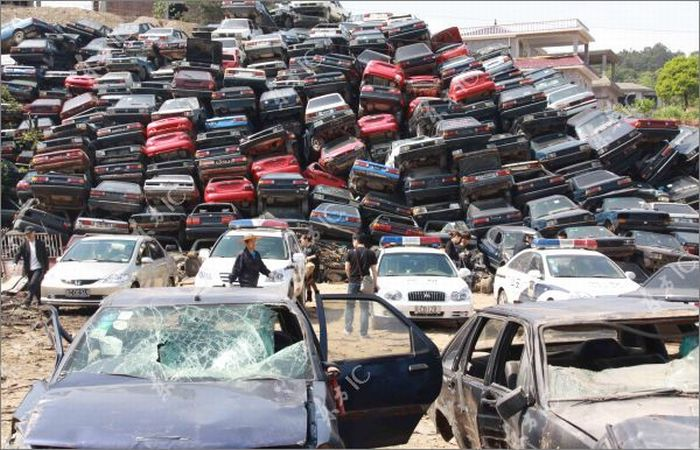 Confiscated Cars (12 pics)
