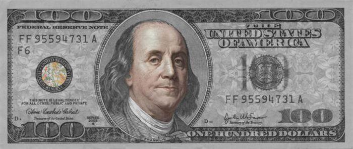 $100 Bill Defaces (34 pics)