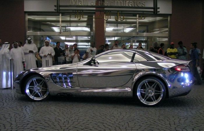 Chromed Cars (34 pics)