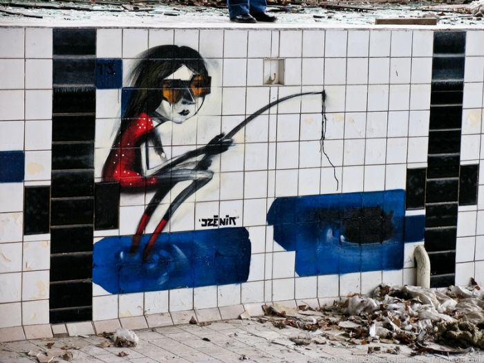 Graffiti in Chernobyl (33 pics)