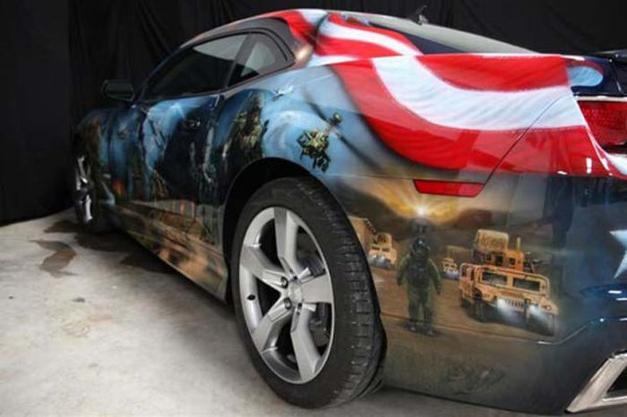 Awesome Airbrushed Camaro (44 pics)