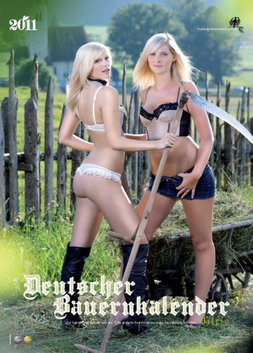 Bauerkalender 2011 - Sexy German Farm Girls Calendar 2011 (13 pics)