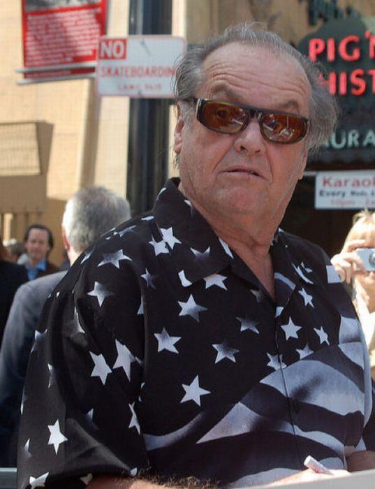 Jack Nicholson Being Himself (25 pics)