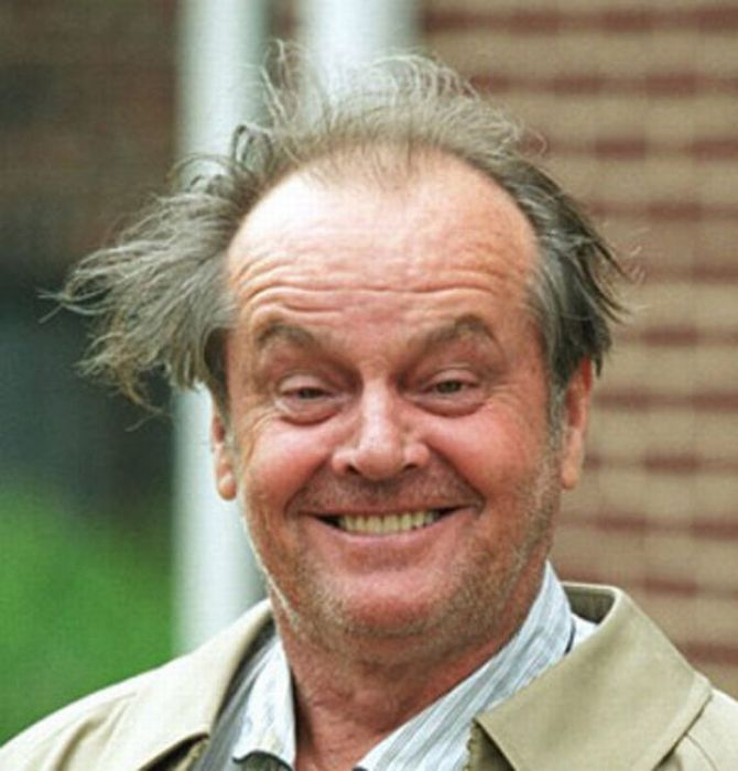 Jack Nicholson Being Himself (25 pics)