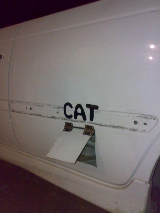 Door for Cat (4 pics)