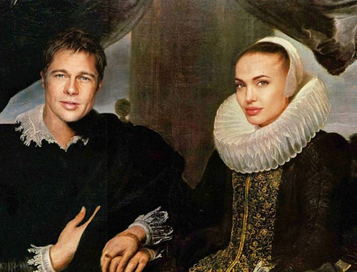 Modern Celebrities at the Renaissance Era (35 pics)