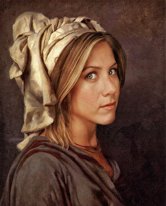 Modern Celebrities at the Renaissance Era (35 pics)