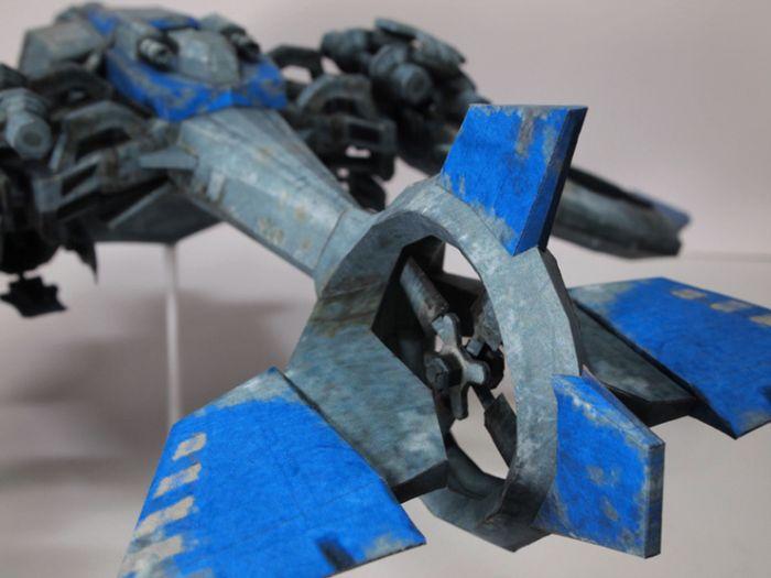 Papercraft Models (9 pics)
