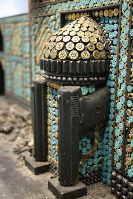 Religious Recreations Using Ammunition and Firearms (9 pics)
