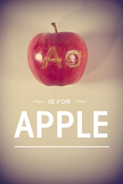 Alphabet Carved into Food (25 pics)