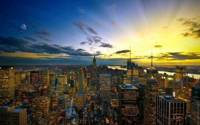 Cities at Night (100 pics)
