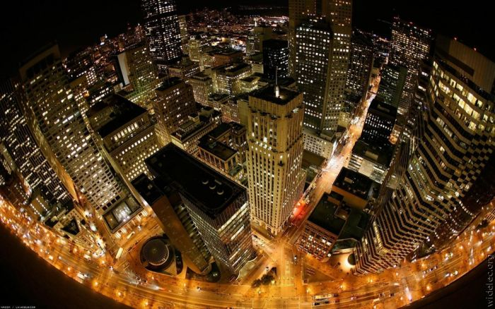 Cities at Night (100 pics)