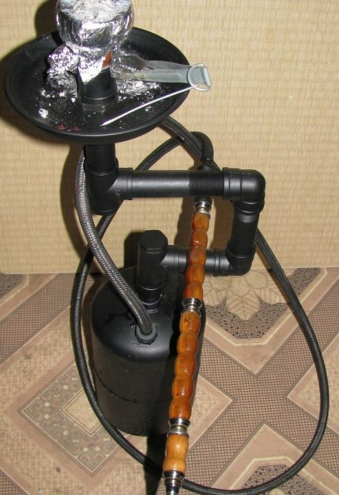 The Best Self-Made Hookah Ever (12 pics)