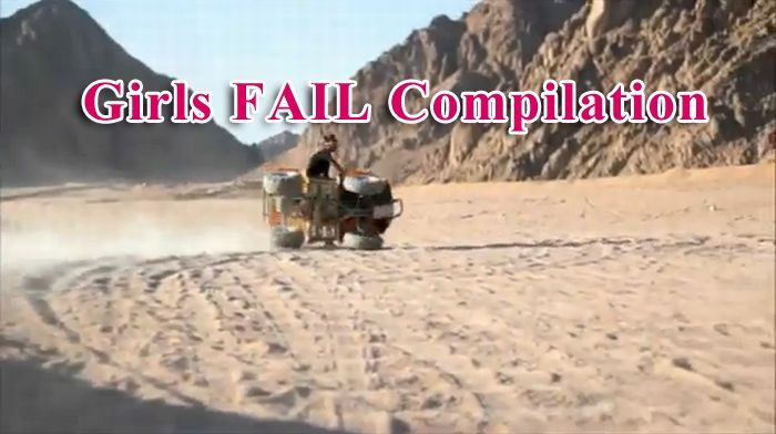 Girls Fail Compilation (video)