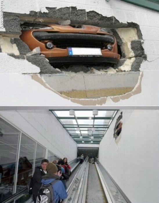 Strange Car Accidents (34 pics)