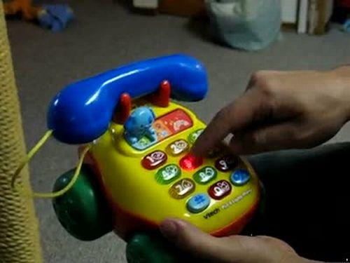 Swearing Toy Telephone