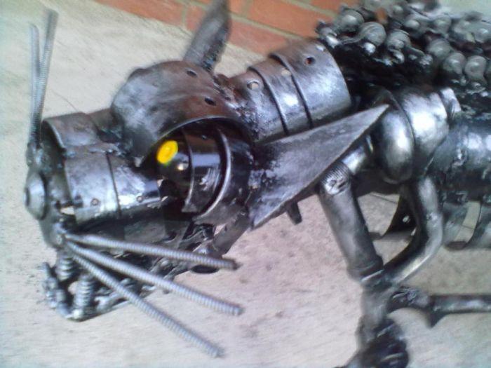 Steampunk Cat (7 pics)