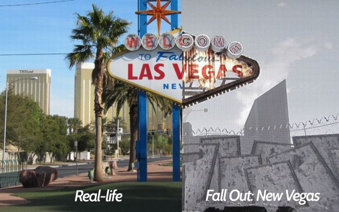 Real-Life Locations in \'Fallout: New Vegas\' Video Game (50 pics)