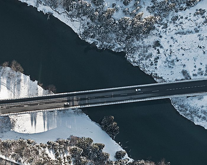 Beautiful Aerial Landscapes (24 pics)
