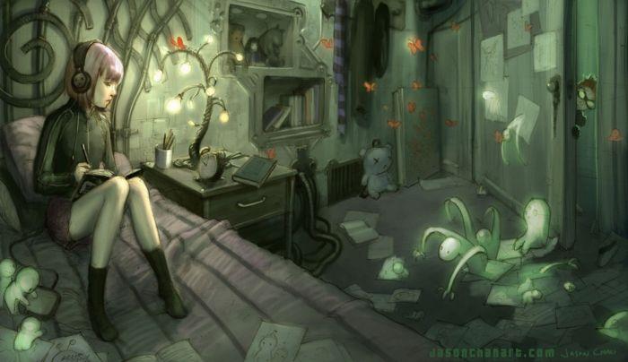 Amazing Illustrations by Jason Chan (110 pics)