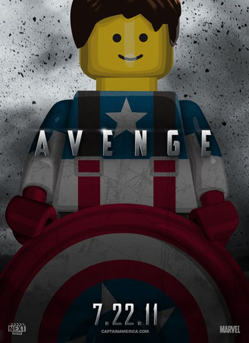 Lego Posters of Summer 2011 Movies (10 pics)