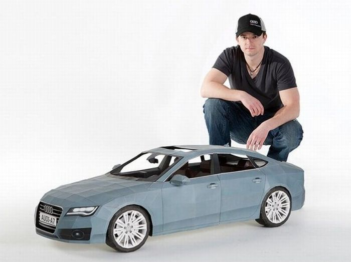 Audi A7 Papercraft (7 pics)