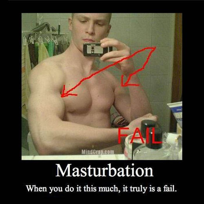 Funny Masturbation Demotivational Posters (40 pics)
