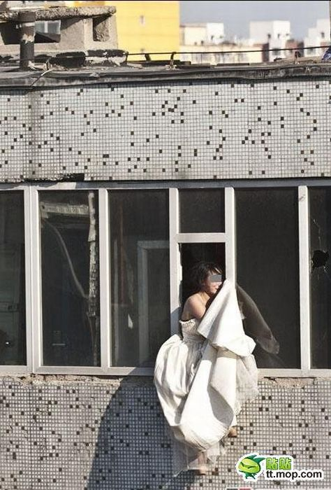 Suicidal Chinese Bride (13 pics)