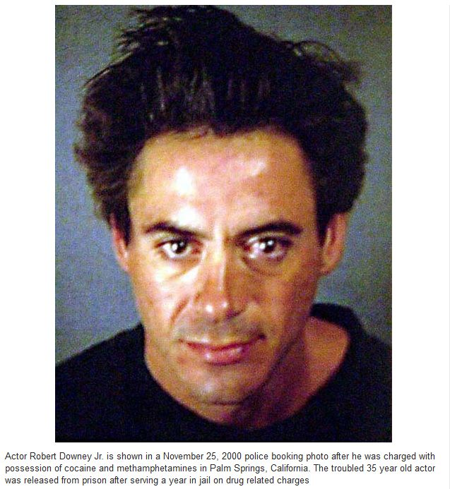 Mugshots of the Famous People (24 pics)