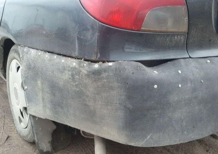 Do It Yourself Car Repair Fail (5 pics)
