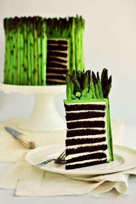Asparagus Cake (5 pics)