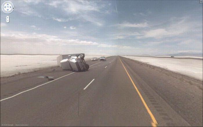 Google Street View Accidents (12 pics)