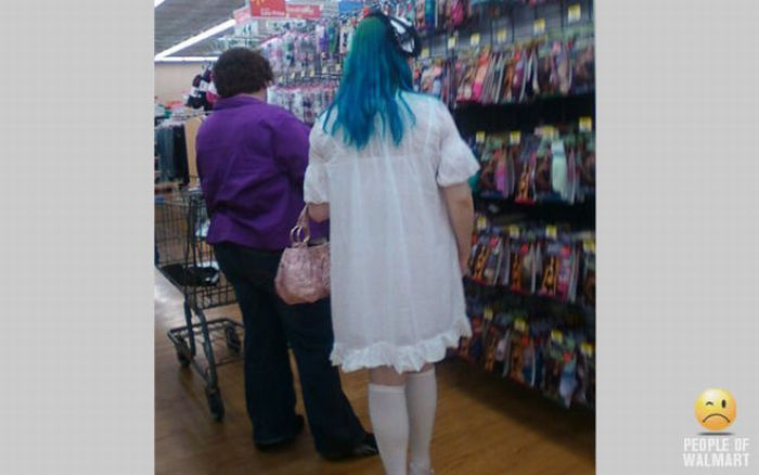 People of WalMart. Part 10 (53 pics)