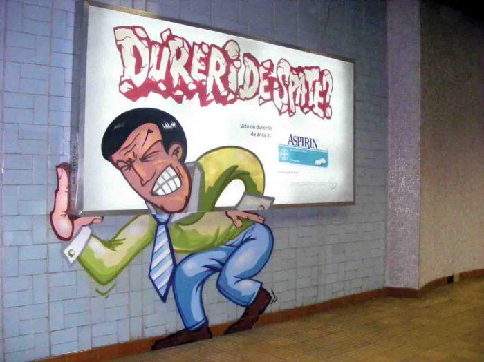 Using Graffiti Art in Advertisement (48 pics)