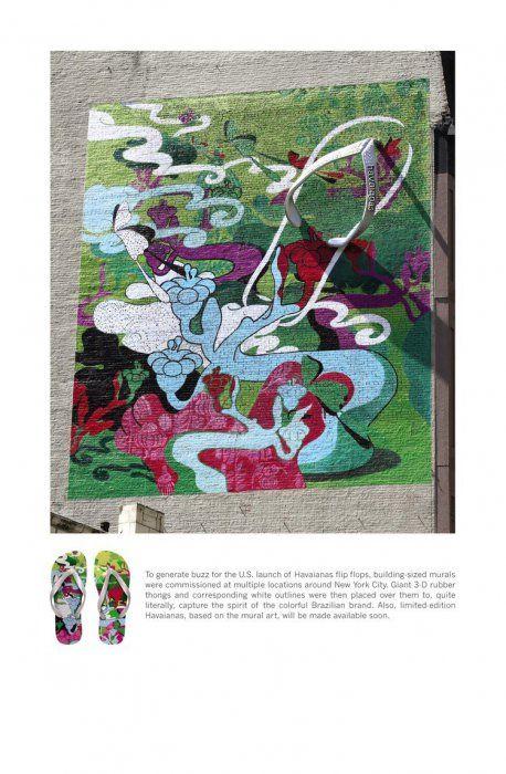 Using Graffiti Art in Advertisement (48 pics)