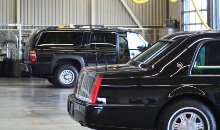 Cadillac One - Limousine of US President (7 pics)