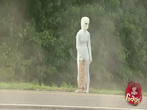 UFO Crash Prank