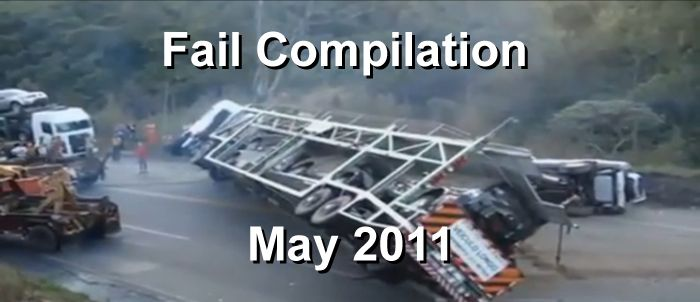 Fail Compilation May 2011 (video)