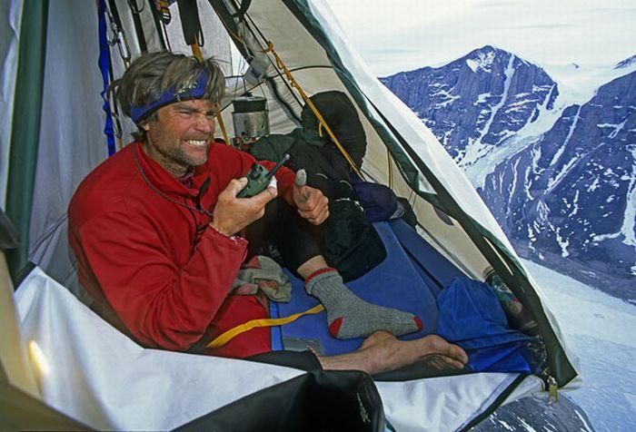 Mountain Camping. Part 2 (17 pics)