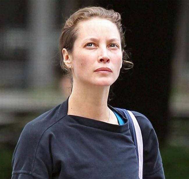 Christy Turlington Without Makeup (5 pics)