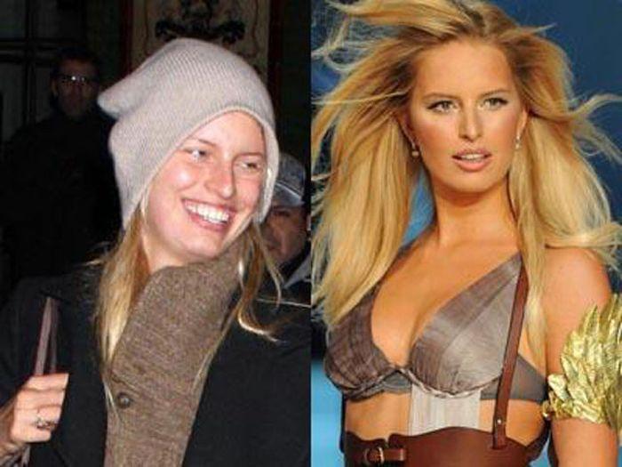 Supermodels without Makeup (11 pics)