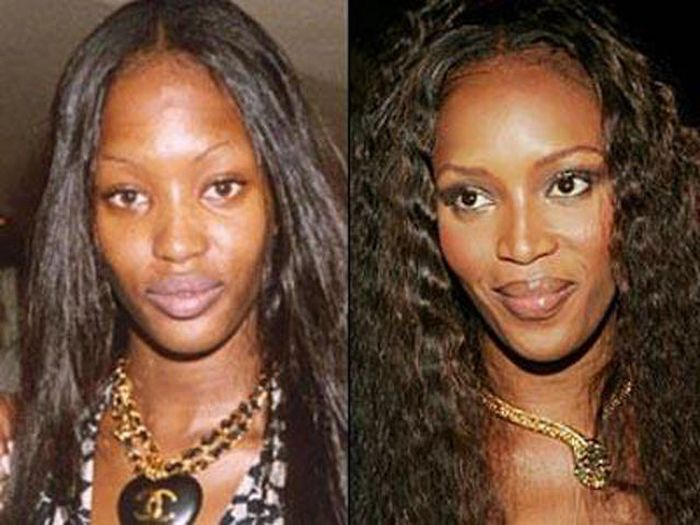 Supermodels without Makeup (11 pics)