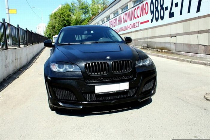 Leather Covered BMW (7 pics)