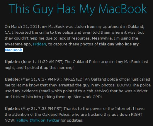Guy Has My MacBook (8 pics)