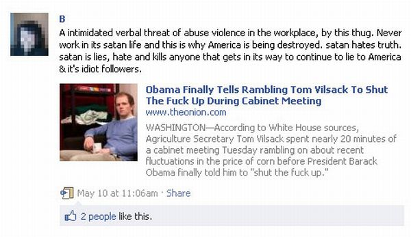 The Onion's True Facebook Believers (21 pics)