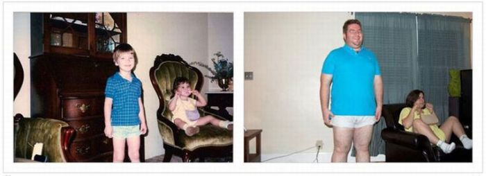 Then and Now (51 pics)