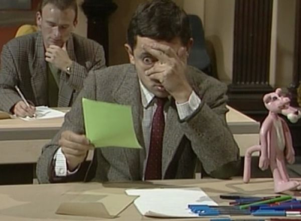 Before and After Test by Mister Bean (6 gifs)