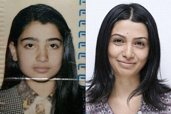 Passport Photo Vs. Real Photo (11 pics)