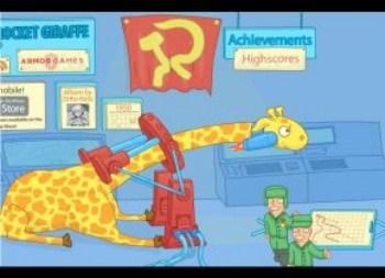 Soviet Rocket Giraffe Go Go Go